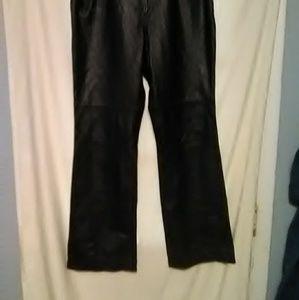 Leather pants by Ralph Lauren